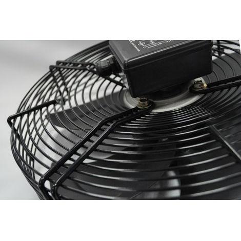 Ventilateur Axial 350 mm 2500 m³/h avec grille de protection 230V