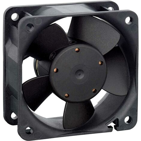 Ventilateur axial EBM Papst 612 N/2 GML-096 9292206096 12 V 23 m³/h (L x l x h) 60 x 60 x 25 mm 1 pc(s)