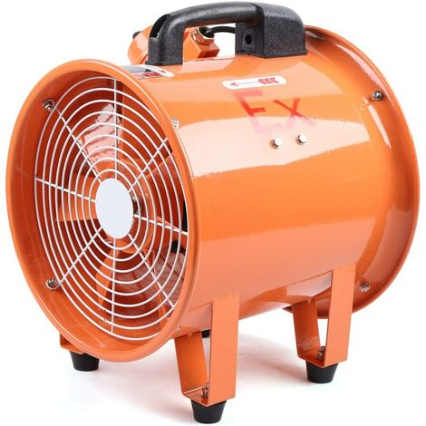 """main image of """"Ventilateur axial industriel de 12 pouces, ventilateur antidéflagrant 2800 tr/min, ventilateur extracteur industriel"""""""