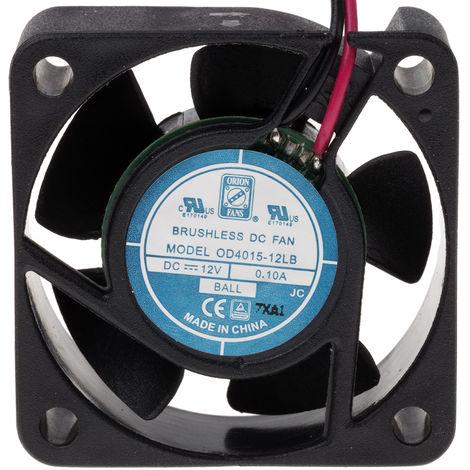 Ventilateur axial RS PRO 5 V c.c., 25 x 25 x 10mm, 1.8cfm, 500mW