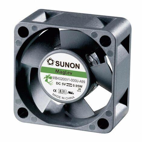 Ventilateur axial Sunon MB40200V2-0000-A99 5 V/DC 13.08 m³/h (L x l x h) 40 x 40 x 20 mm 1 pc(s)