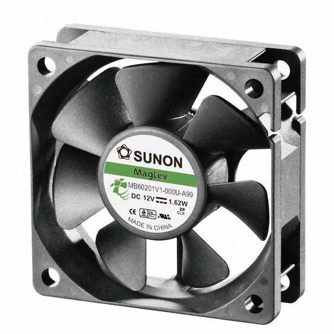 Ventilateur axial Sunon MB60201V1-000U-A99 12 V/DC 39.07 m³/h (L x l x h) 60 x 60 x 20 mm 1 pc(s)