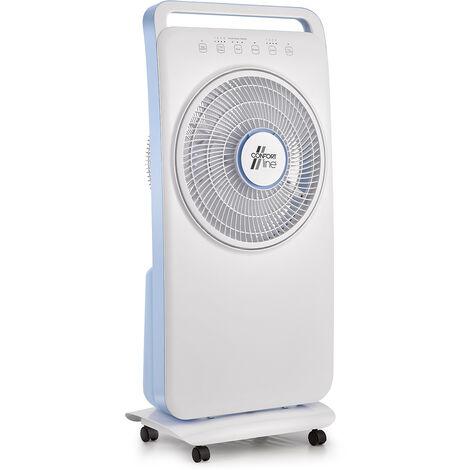 ventilateur brumisateur 80w 84cm avec télécommande - vlb.lotus - confort line