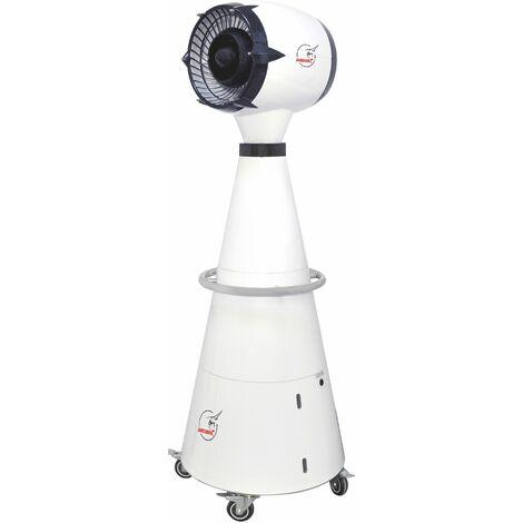 Ventilateur Brumisateur, Climatiseur d'extérieur avec réservoir d'eau - idéal terrasse - BRUA-4PT