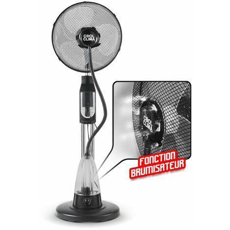 Ventilateur Brumisateur sur pied oscillant 70 W