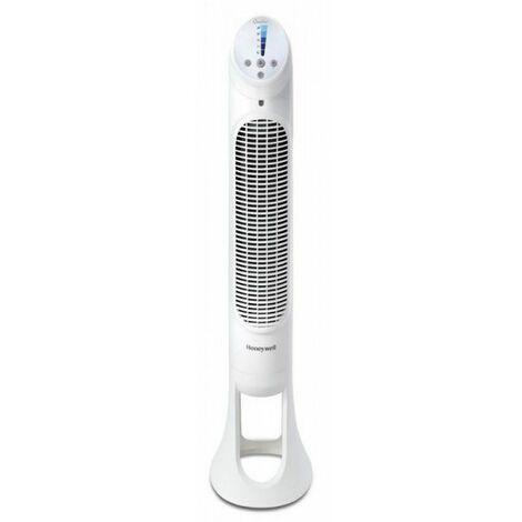 ventilateur colonne 101cm 30w 5 vitesses blanc - hyf260ea - honeywell