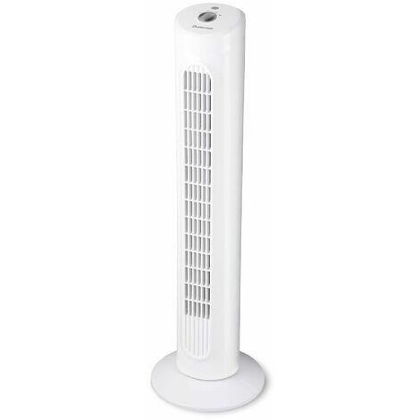 ventilateur colonne 40w 3 vitesses blanc - do1100e4 - duracraft