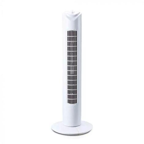 Ventilateur Colonne 80cm 45W Avec Oscillation Et Temporisation Vt-4538 V-TAC