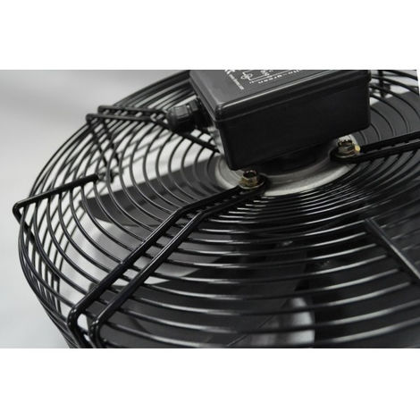 Ventilateur d'aspiration 350 mm 230V Ventilateur axial avec grille de protection