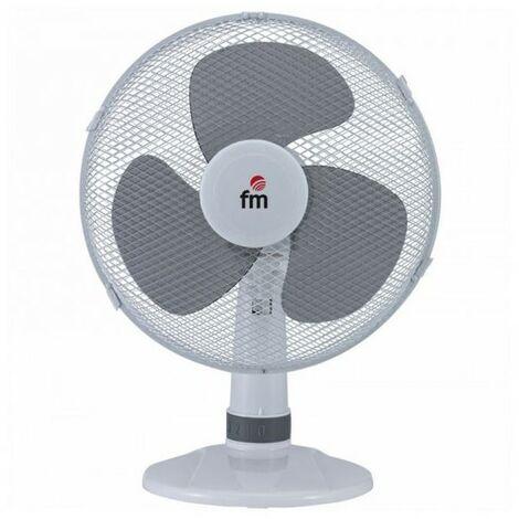 Ventilateur de Bureau Grupo FM S-140 Blanc