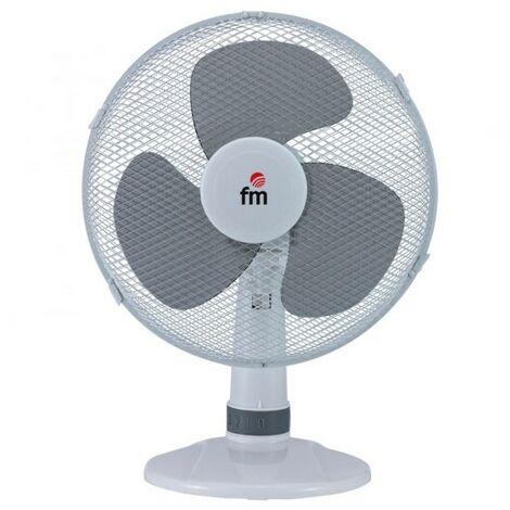 Ventilateur de Bureau Grupo FM S130 30 cm 3A 35W Blanc