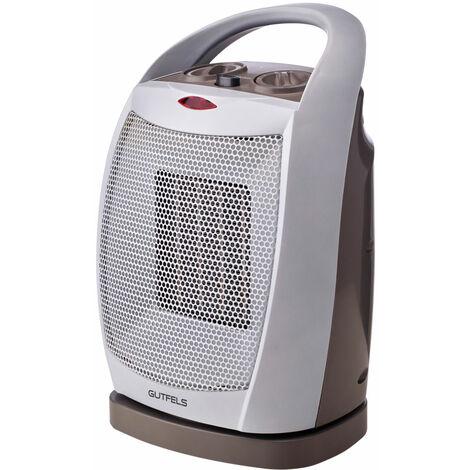 Ventilateur de chauffage 2 étapes ventilateur de salle de bain 1800 W élément chauffant en céramique oscillante HL31838grw