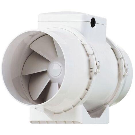 Ventilateur de gaine - IN LINE XS 100 ALDES - 11022330  Diamètre 100 mm - débit 190 m3/h