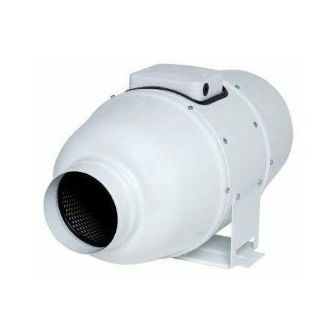 Ventilateur de conduit In Line XSilent 125 - 30W - 340m3/h - 28dB - Blanc