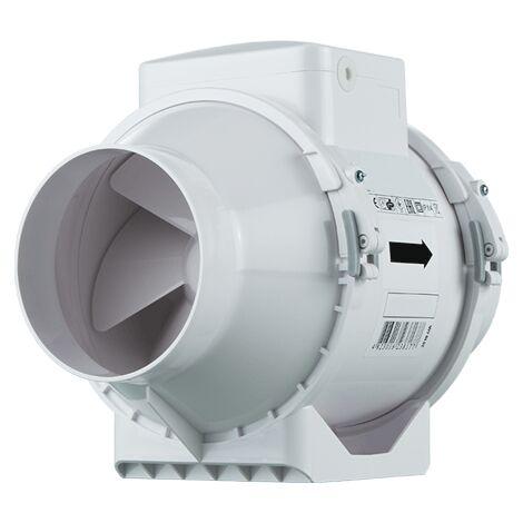 Ventilateur de gaine - TT 125 ECONOPRIME - ETT125 Diamètre 125 mm - Débit max vitesses 1 / 2 : 220 / 280 m3/h