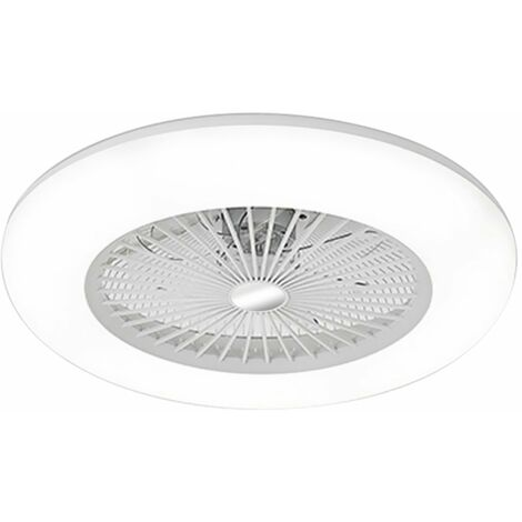 Ventilateur de plafond 180V-265V La lumi¨¨re LED prend en charge la connexion Bluetooth T¨¦l¨¦commande 36W exp¨¦di¨¦e sans batterie