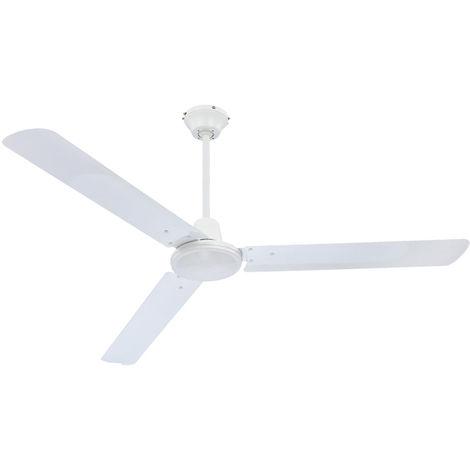 Ventilateur de plafond avec interrupteur mural ventilateur éolienne Globo Ferro 0310/034010