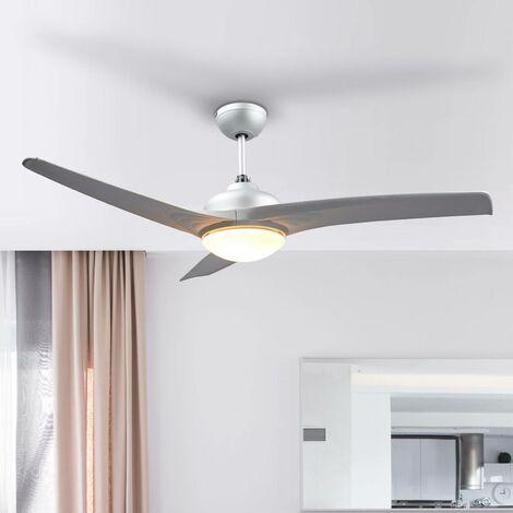 Ventilateur de plafond avec lampe 'Emanuel' pour salon & salle à manger