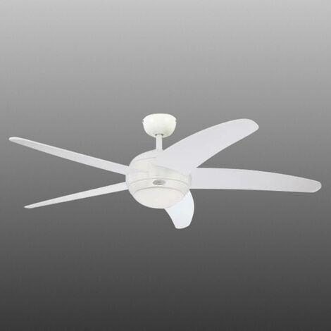 Ventilateur de plafond 'Bendan' en métal pour salon & salle à manger