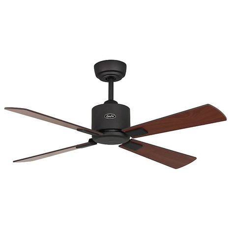 Ventilateur de Plafond Eco Neo II 103 Chromé Wengé Gris argenté - CASAFAN -