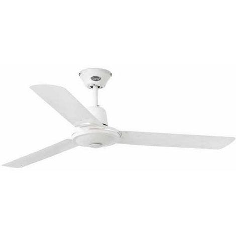 Ventilateur de plafond Faro Eco indus Blanc 01 Métal 33005