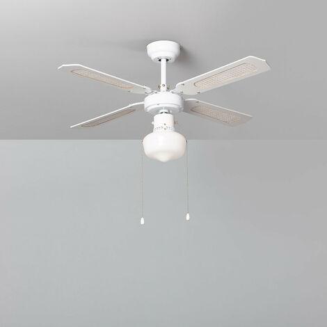Ventilateur de Plafond Havoc Blanc Blanc