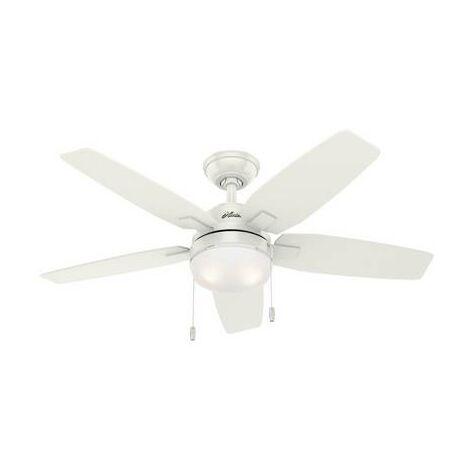 Ventilateur de plafond Hunter 2258350 Puissance: 128 W