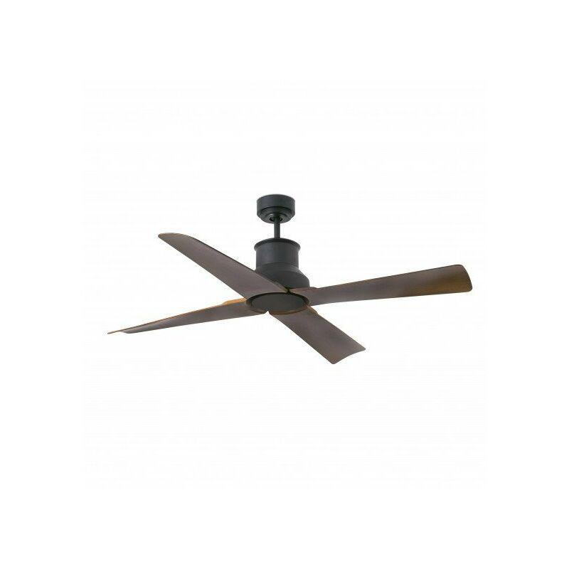 Ventilateur de plafond IP44 Winche Noir FARO 33481