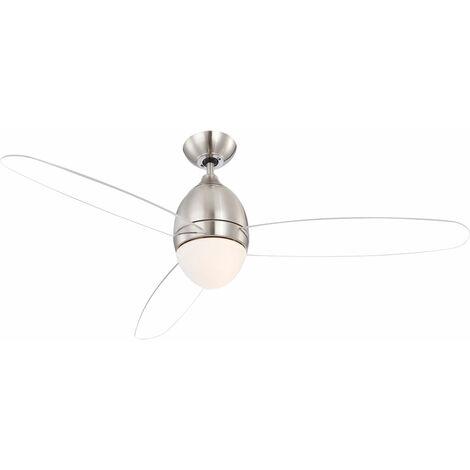 Ventilateur de plafond LED RGB, application et commande vocale