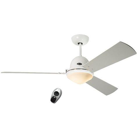Ventilateur de plafond Libeccio Chrome - CASAFAN -