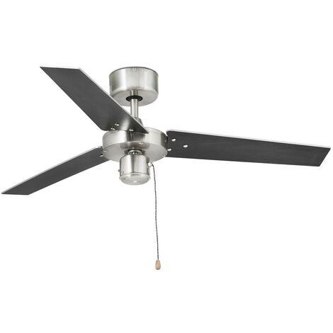 Ventilateur de plafond modèle FACTORY - aluminium