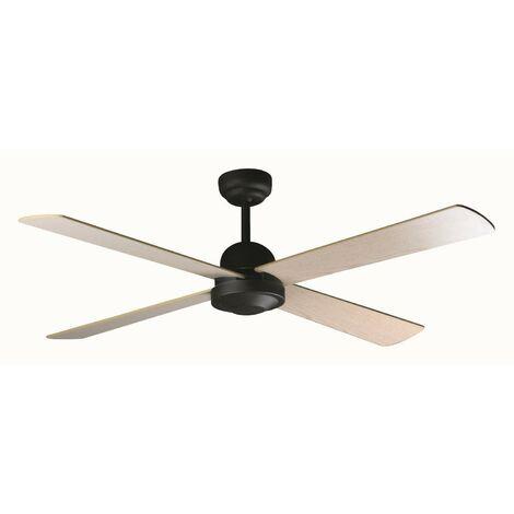 Ventilateur de plafond modèle-Ibiza-Brun