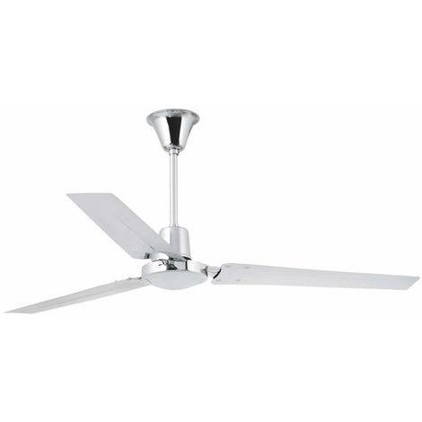 Ventilateur de plafond modèle-Indus-Blanc