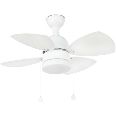 Ventilateur de plafond modèle MEDITERRANEO-Blanc