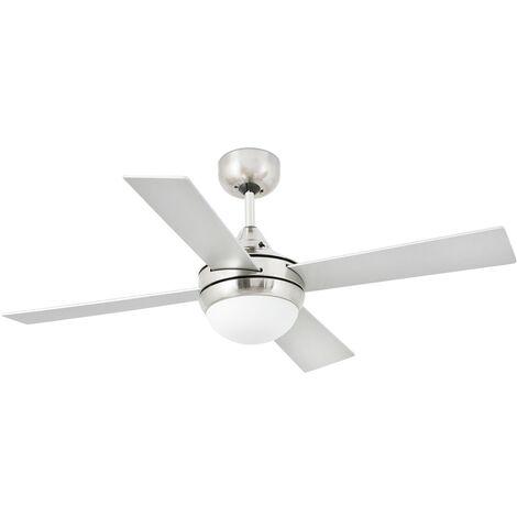 Ventilateur de plafond modèle MINI ICARIA-matte de nickel