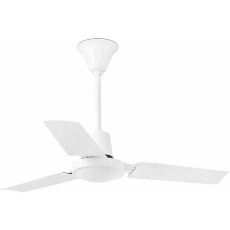 Ventilateur de plafond modèle-Mini Indus-Blanc