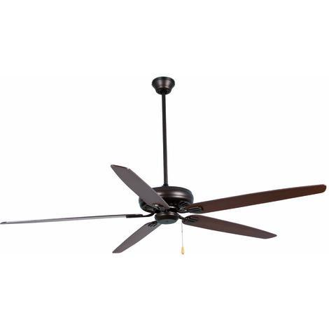 Ventilateur de plafond modèle-Nisos-Brun