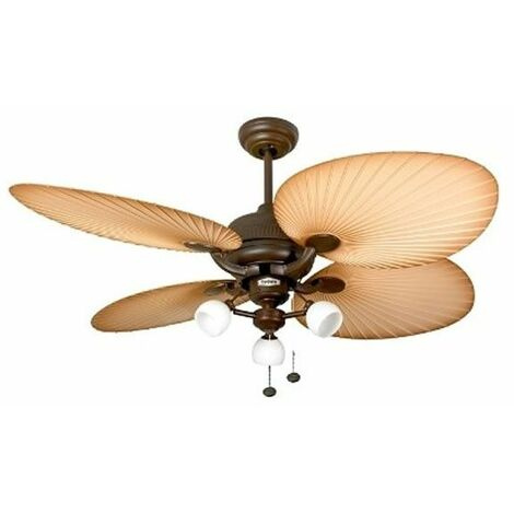 Ventilateur de plafond Palm Florence Marron 132 cm