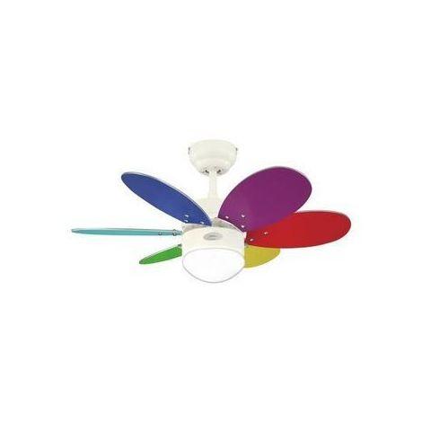 Ventilateur De Plafond Turbo Swirl Ii 76cm Multicolor Westinghouse