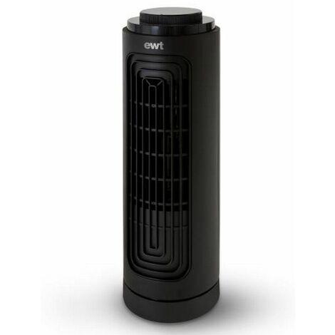 ventilateur de table 20w 3 vitesses noir - airfanb - ewt