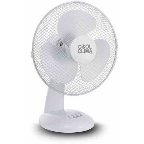 Ventilateur de table 40W - 30cm - Cool clima