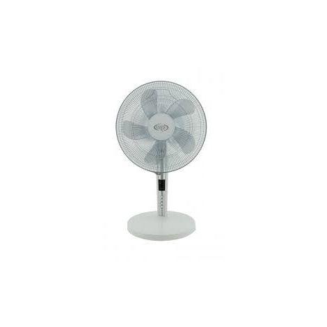 Ventilateur de table blanc H730mm Ø 400mm oscillant 3690m3/h 65W TABLO WHITE ARGO 398200010