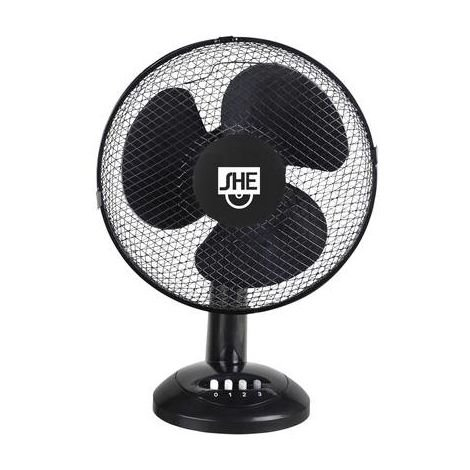 Ventilateur de table SHE SHE30TI1902 40 W noir