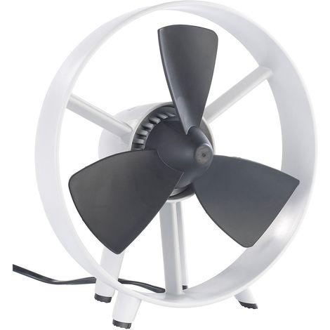 Ventilateur de Table - Silencieux et Design - Pales Souples