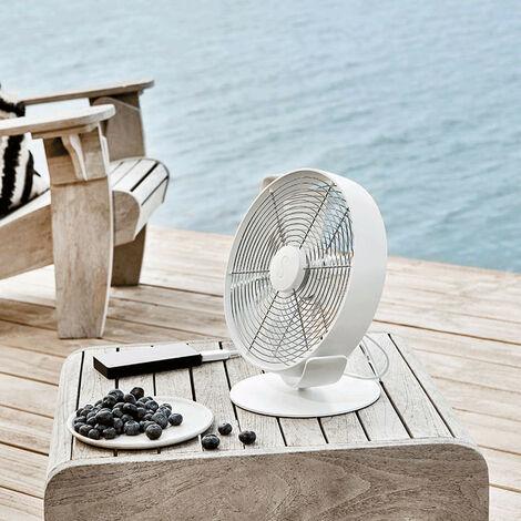 Ventilateur de table TIM blanc