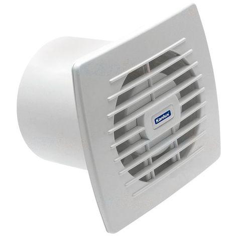 Ventilateur d'extraction 230 V 150 m3/h 120 mm CYKLON EOL120HT 20W avec une minuterie