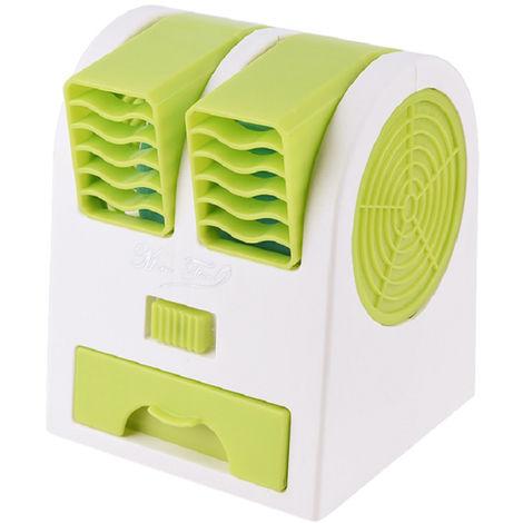 Ventilateur, Double Vent, Vert