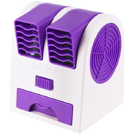 Ventilateur, Double Vent, Violet