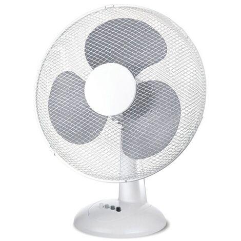 Ventilateur en métal et polycarbonate à 3 pales et 3 vitesses