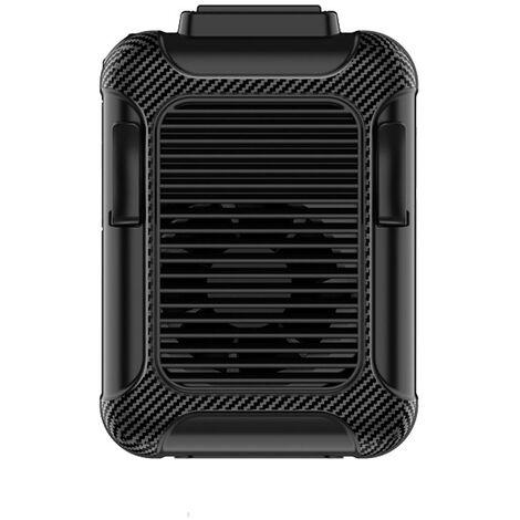 Ventilateur Exterieur, Ventilateur Portable De Chargement Usb, 112 * 79 * 53 Mm, Alimentation Par Batterie 6000Mah